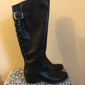 Lucky Brand Studded Knee High Boots